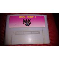 Fitas De Super Nintendo Mortal Kombat 3 - Paralela