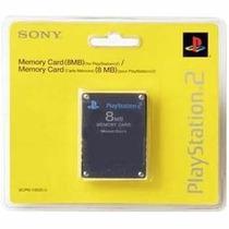 Memory Card 8mb Playstation 2 Ps2 Cartão Memoria Lacrad