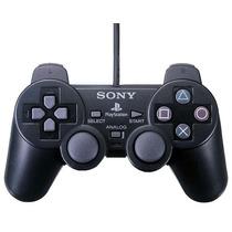 Controle Playstation 2 Sony Original + 2 Jogos Grátis