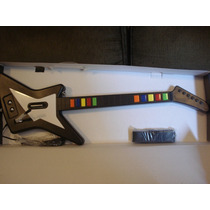 Guitarra Guitar Hero Com Fio 10 Botões Ps2