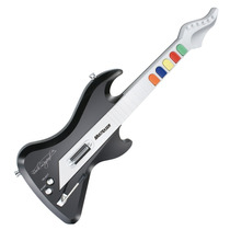 Guitarra Guitar Hero Rock Band P/ Ps2 Sem Fio 6 Botões