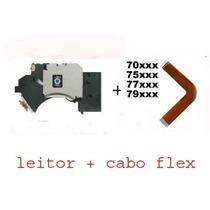 Leitor Óptico,canhão Pvr 802 Ps2 Slim+cabo Flat Série 7xxxx