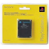 Lote Com 10 Unidades Memory Card Ps2 - 8mb Lacrado !