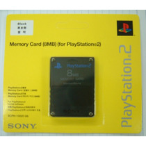 10 Unidades - Memory Card Ps2 - 8mb