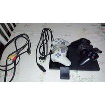 Play Station 2, 2 Controles, Memory Card, Destravado