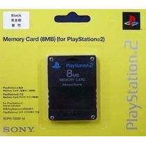 Memory Card Ps2 Original 8mb Lacrado No Blister