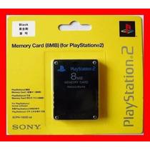 Memory Card Cartão Memória Ps2 Playstation 2 8mb Aproveite!