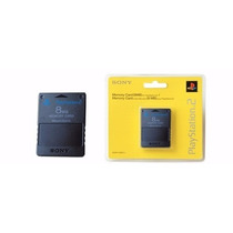 Memory Card 8mb Playstation 2 Ps2 Two Cartão Memoria Lacrad