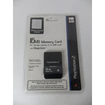 Memory Card Raro Original Licenciado Pela Sony Com 16 Mb