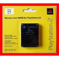 Memory Card Para Ps2 (play Station) 8mb - Sony (promoção)