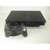 Ps2-playstation 2 Phat Lacrado E Bloqueado