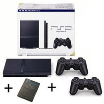 Playstation 2 Destravado 2 Controles Originais + Memory Card