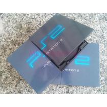 Playstation 2 Ps2 Semi Novo + Controle + Memory Card + Jogos