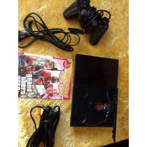 Playstation 2 Slin Desbloqueado Sony Jogos Melhor Preço