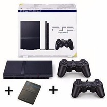 Playstation 2 Desbloqueado 2 Controle + Memori Card Novo