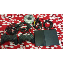 Playstation2 + 2 Controlesoriginais + De 15jogos+ Memorycard