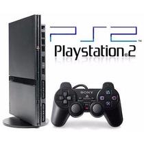 Playstation 2 Destravado - Novo - Na Caixa + 05 Brindes