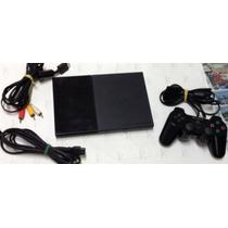Playstation 2 Destravado,+ Controle Original- Ps2