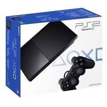 Playstation 2 Desbloqueado Com 2 Controles - Pronta Entrega