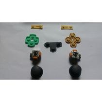 Kit Reparo Controle De Ps2 3d Analogico Borrachas