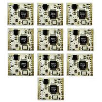 10 Chips Matrix Dourado Playstation 2 + Esquema Desbloqueio