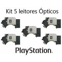 Kit 5 Leitor Óptico Canhão Playstation 2 Todos Modelos Slim