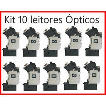 Kit 10 Leitor Óptico Canhão Playstation 2 Todos Modelos Slim