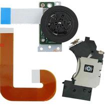 Kit Leitor Óptico + Cabo Flat + Motor Ps2 Play 2 Slim 9000x
