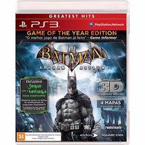 Batman Arkham Asylum Ps3 Wb Games Dc Semi Novo Original