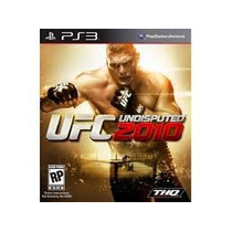 Jogo Playstation 3 (ps3) - Ufc Undisputed 2010