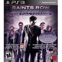 Jogo Saints Row The Third The Full Playstation 3