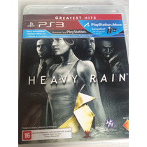 Heavy Rain Greatest Hits Português Brasil Ps3 Novo Lacrado