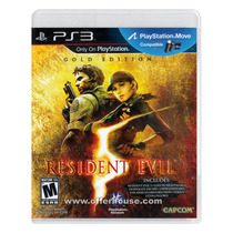 Playstation 3 - Resident Evil 5 Gold Edition (compatível Co