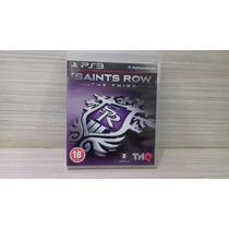 Jogo Saints Row The Third Play 3 (original)