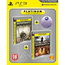 Resistance: Fall Of Man And Resistance 2 Twin Pack Ps3 Sony