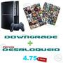 Downgrade Novo Desbloqueio 4.75 Lancamentos +psn Online!