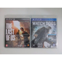 Game The Last Of Us + Watch Dogs - Ps3