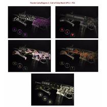 Kit 2: Camuflagens Call Of Duty Black Ops 2 - Psn Codigo Ps3