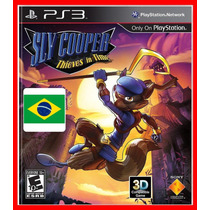 Sly Cooper Viajantes Do Tempo - Portugues Br Ps3 Psn Dublado