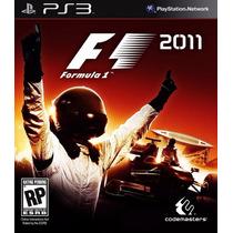 Jogo Playstation 3 Formula 1 2011