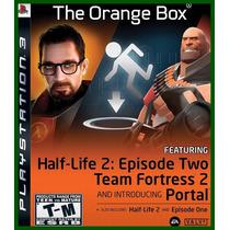The Orange Box Ps3 - Jogo Raro! + Frete Grátis