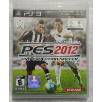 Jogo Pes 2012 Pro Evolution Soccer Midia Fisica Semi Novo
