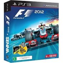 F1 2012 Com Filme Senna Ps3 100% Qualificações Positivas