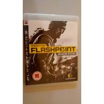 Jogo Ps3 Operation Flashpoint Dragon Rising Ps3 Midoa Fisica
