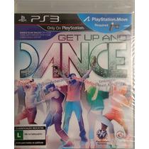 Jogo De Dança Ps3 Get Up And Dance Lacrado Pronta Entrega