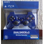 Controle Ps3 Sem Fio Ps3 Dualshock Playstation 3 Azul