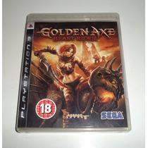 Golden Axe Beast Rider Ps3 Playstation 3 Estado De Novo Zero