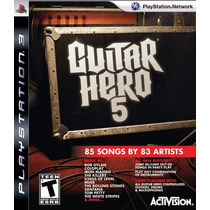 Guitar Hero 5 Original Ps3 Midia Fisica