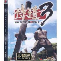 Way Of The Samurai 3 Ps3 Raro De Encontrar Lacrado