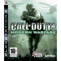 Call Of Duty 4 Modern Warfare Ps3 Codigo Psn
